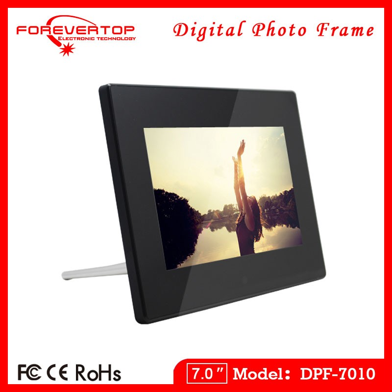 2016 factory low price 7 inch birthday gift digital photo frame