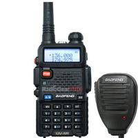 wholesale Pofung UV-5R 136-174/400-479.995MHz Dual-Band DTMF CTCSS DCS FM radio + mic