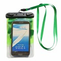 PREMIUM QUALITY Universal Waterproof Case including ARMBAND LANYARD - Best Water Proof, Dustproof, Snowproof Bag