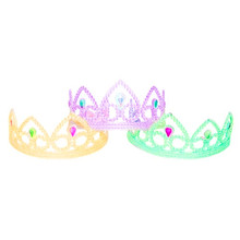 Customize New Hot Fashion Plastic Children Kids Hair Accessory Tiaras For Christmas Pricess Gift Box from Dongguan