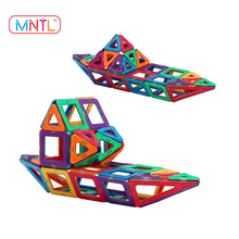 EDC Magnetic Building Blocks 3D DIY Puzzle Toys Magnetic Square Triangle Toy Set for Kids - MNTL Hot Sales 65 Pieces