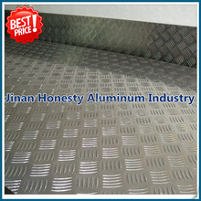 Marine base industry 5052 5083 5754 5005 aluminum checker sheets