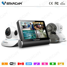 VStarcam n7inch touch andriod tablet wireless ip camera kit camera 4 camera nvs kit like nvr kit center software