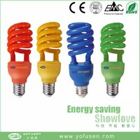 color lamp plant growth lamp spiral bulb E27/B22 cfl 220v