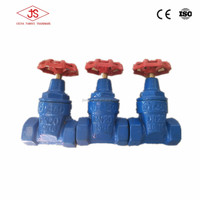 China factory cast iron soft sealing gate valve