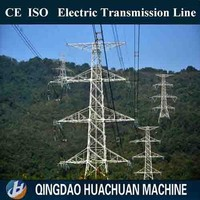 220kv power transmission line steel towers