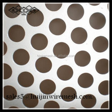 galvanized stainless steel aluminium round hole perforated sheet, perforated metal