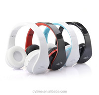 Audio Bluetooth Wireless MP3 Player China Stereo Headphone with LED Light weight