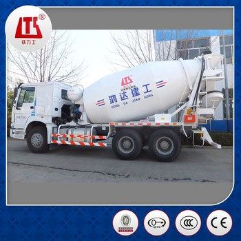 China 9m3 Mobile Concrete Truck Mixer ISO9001&BV Approved