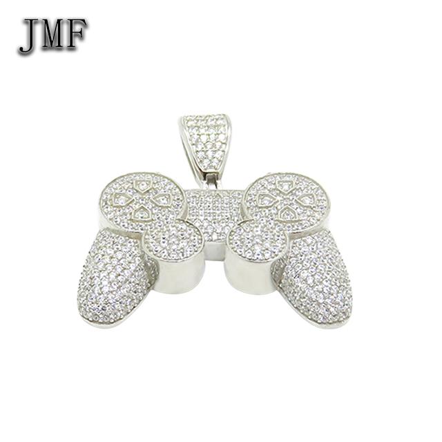 Hip hop jewelry custom logo pendant jewelry supplies