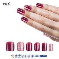 EA free sample different styles wholesale acrylic nail tips
