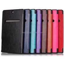"Crazy Horse Tri-Fold PU Leather Stand Case Cover For Dell Venue 8 7000 7840 8.4""Tablet PC"