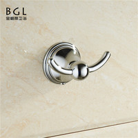 bathroom shower wall mount zine alloy chrome finishing goods of high demand coat hook