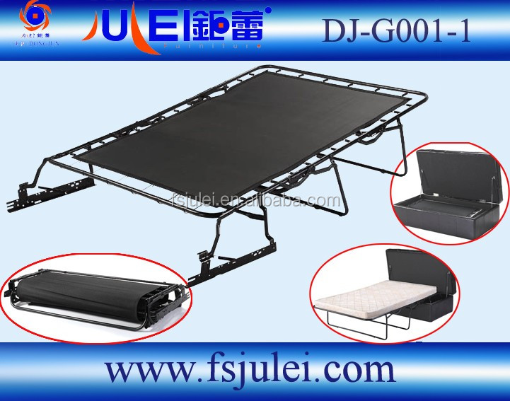 fashional steel canvas pull out sofa sleeper bed mechanism DJ-G001-1