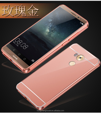 Mirror Bumper Case Cover Shockproof Hybrid Combo Compatible For Huawei Mate 8