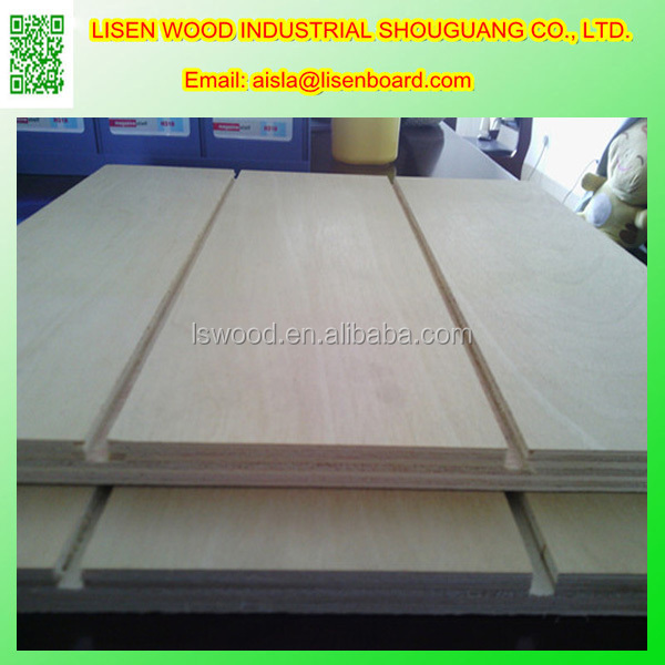 9mm 12mm 15mm 18mm Commercial Grade Paper Overlay Tongues and groove plywood