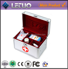 2015 new products aluminum case large tool box medical box with lock