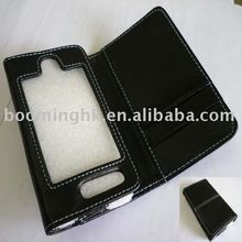 mobile leather case for iphone 3g 3gs