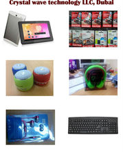 computer accessories like headphone, Key board, mouse, antivirus, speaker, I-pad etc.