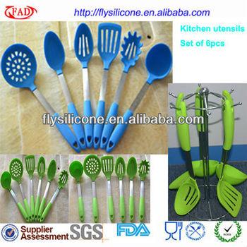 Set of 6pcs names of kitchen tools household utensil for Kitchen tool set of 6pcs sj