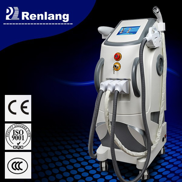 New products! best e light rf skin tightening face lifting laser hair removal machine