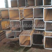China Square Galvanized Stainless Steel Tube