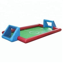 factory price new portable football arena inflatable soap football field, inflatable sopy soccer yard for sale