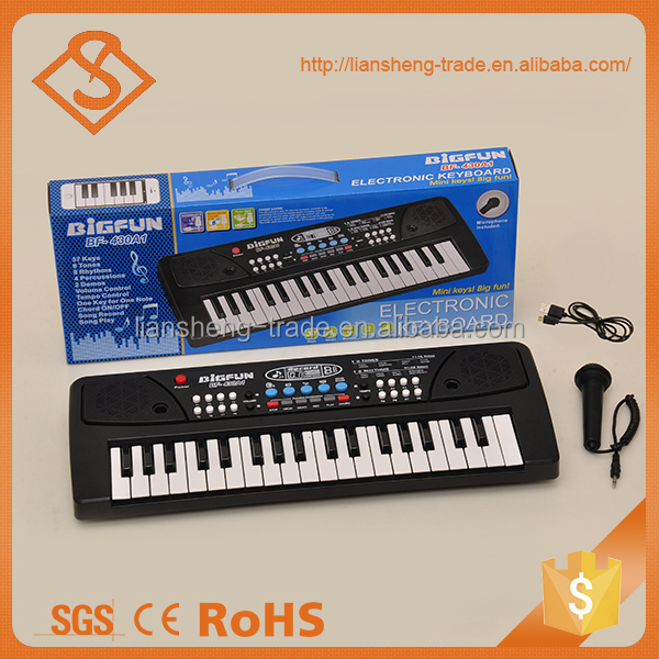 Kids preschool musical instrument electronic keyboard for sale