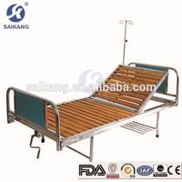 ISO9001&13485 Certification Detachable Abs Manual Hospital Bed