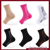 Foot Care Nylon Thicken Ankle Socks Sports Compression Sock