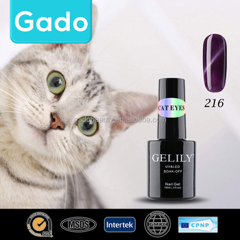 Good quality GELILY 10ml Cat Eyes Gel 48 Popular Colors Nails Gel Polish 202