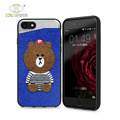 Customize color and texture phone shell embroidery original for iphone 8 7 cover new
