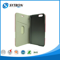 Rubber Oil PC + PU China leather case for iphone 4 ultra slim