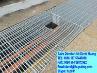 galvanized floor trench bar grating,galvanized drain cover, road trench grating cover