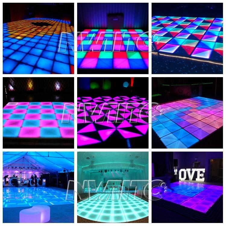 Rgb Illuminated Lighted Floor Tiles Interactive Led Dance