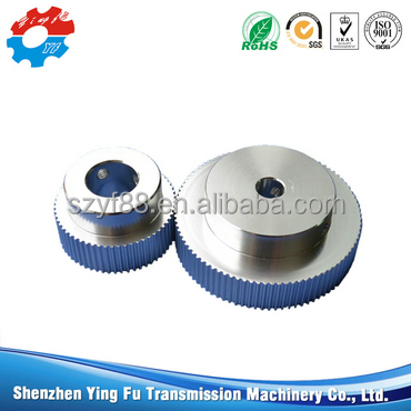 3d printer parts aluminum 8mm hole 36 teeth gt2 synchronization round timing belt pulley