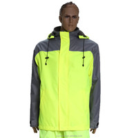 2016 reflective jacket man jacket 100% polyester jacket