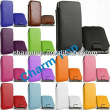 Leather Pouch Case For Samsung i8190 Galaxy S3 Mini