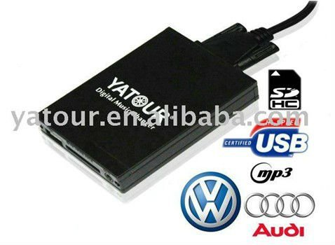 auto mp3 schnittstelle usb sd adapter f r mfd2 rcd300. Black Bedroom Furniture Sets. Home Design Ideas