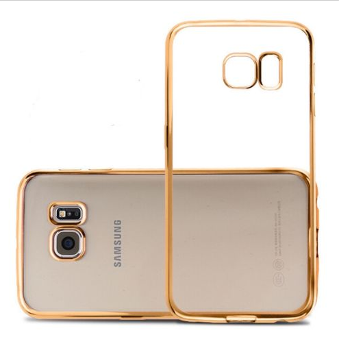 For Samsung S7 S7 edge electroplating TPU case