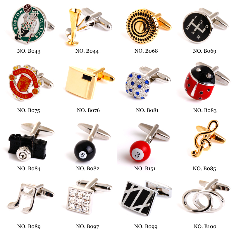 Automobile transmission cufflinks male French shirt cuff links for men's Jewelry Gift