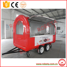 Mobile Fryer Food Cart, Fried Ice Cream Cart,fast bbq food cart renting