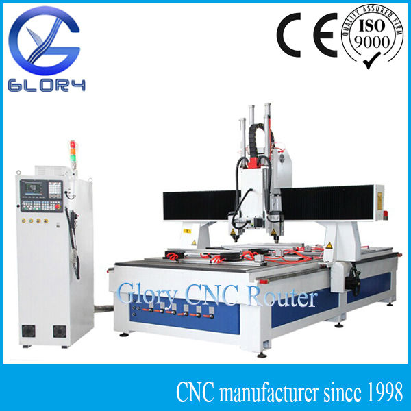 Woodworking CNC Router Machine for Panel Door