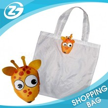 High Quality Low Price Polyester Nylon Shopping Foldable Custom Made Bag