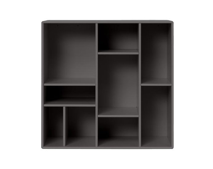 Compile Wall-Mounted Bookshelf MDF wood bookcase