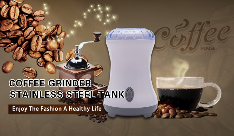 RITIAN plastic Latest Style professional OEM stainless steel coffee grinder