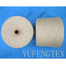 80/20 polyester wool blended yarn for knitting and weaving Ne5-40S in china