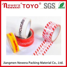 Good Viscosity BOPP acrylic adhsive Packaging Custom Printed tapes with logo