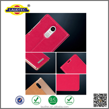 flip leather stand case cover for xiaomi redmi note 3