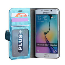 Colorful OEM Leather Phone Case for Samsung S6 Edge